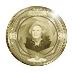 10 Euro goud - 100 jaar Muntgebouw keerzijde