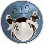 10 Euro Estland 2011 keerzijde