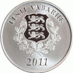 10 Euro Estland 2011 voorzijde