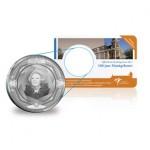 5 Euro zilver - 100 jaar Muntgebouw coincard