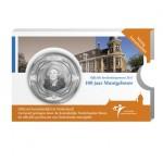 5 Euro zilver - 100 jaar Muntgebouw coincard hoesje