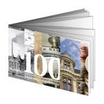 5 Euro zilver - 100 jaar Muntgebouw coincard boekje