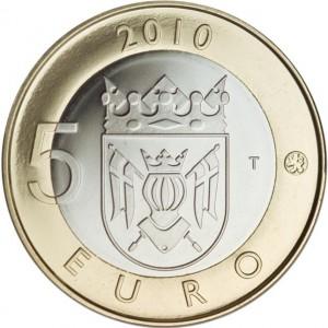 5 Euro Finland - Finland Proper keerzijde