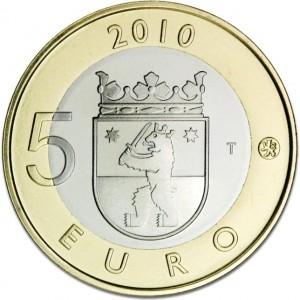 5 Euro Finland - Satakunta keerzijde