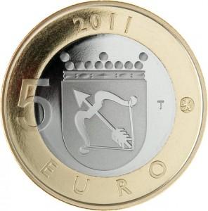 5 Euro Finland 2011 - Savonia keerzijde