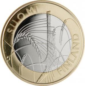 5 Euro Finland 2011 - Savonia voorzijde