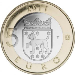 5 Euro Finland 2011 - Tavastia keerzijdezijde