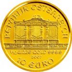 Wiener Philharmoniker Goud 1/10 oz - 10 Euro