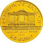 Wiener Philharmoniker Goud 1/4 oz - 25 Euro