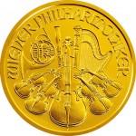 Wiener Philharmoniker Goud - achterzijde