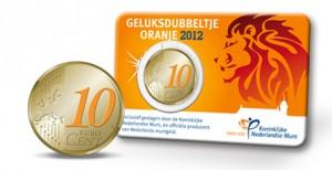 Het Oranje Geluksdubbeltje 2012