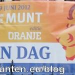 Banner voor de Dag van de Munt 2012