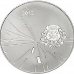 12 Euro Estland Olympische Spelen 2012 voorzijde