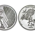 2,50 Eeuro Olympische Spelen London uit Portugal 2012 proof zilver