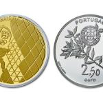 2,50 Eeuro Olympische Spelen London uit Portugal 2012 proof zilver en goud