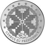 5 euro Cyprus voorzitterschap van de Europese unie achterzijde