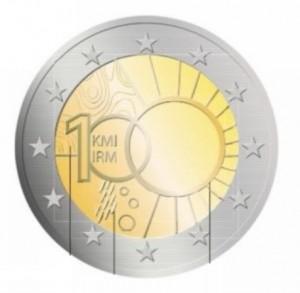 2 Euro herdenkingsmunt Belgie 2013 100 jaar KMI