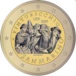 2 Euro San Marino 2013 500e sterfdag van  Pinturicchio