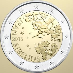 2 Euro Finland 2015 150ste geboortedag van Jean Sibelius